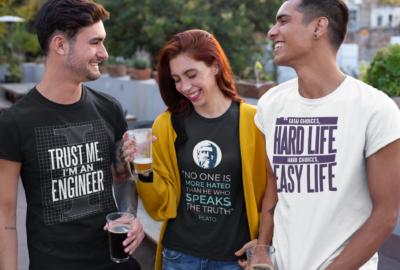 t-shirt-mockup-of-a-group-of-friends-drinking-and-laughing-25252