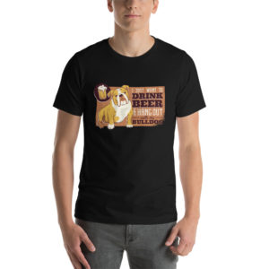 T-shirt Bulldog Beer