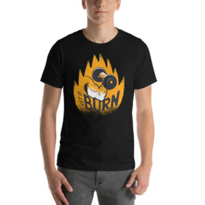T-shirt Let It Burn