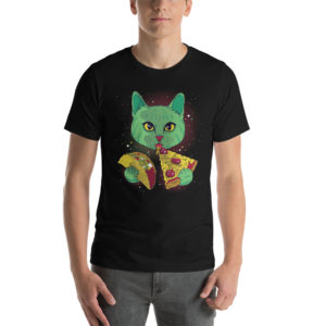 T-shirt Cosmic Cat