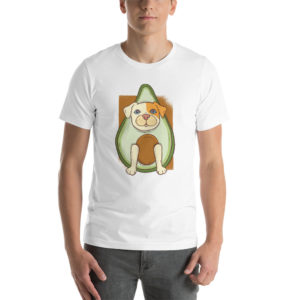 T-shirt Avocado Dog