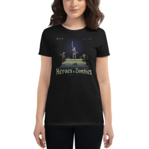 Women's T-shirt Heroes & Zombies