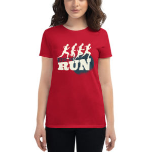 Women's T-shirt Rise And Run