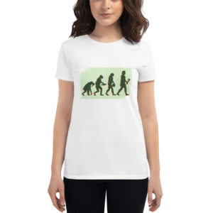Women's T-shirt Vegan Evolution